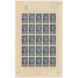 N°__399 CATHEDRALE REIMS COIN DATE DE 1938 TIMBRES NEUFS **
