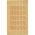 N°733 MARIANNE DE GANDON FEUILLE COMPLETE TIMBRES NEUFS**