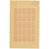 SÉRIE FEUILLES COMPLÈTES N°587 A 592, TIMBRES NEUFS** - 1943