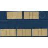 LOT DE 5 MILLÉSIMES N°_31 TIMBRES TAXE 20c OLIVE, OLIVE FONCÉ NEUF **, 1926