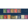 N°280-289 SÉRIE TYPE PAIX TIMBRES NEUFS**, 1932-1933