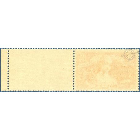 N°308 POUR L'ART ET LA PENSÉE, TIMBRE POSTE NEUF** 1935