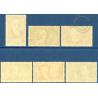 N°380 A 385 CHÔMEURS INTELLECTUELS, TIMBRES NEUF **, 1938