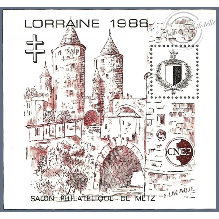 "BLOC CNEP N°9 ""LORRAINE 1988"""