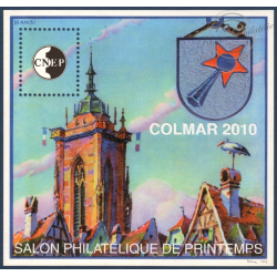 """BLOC CNEP N°_55 """"COLMAR 2010"""" LUXE"""