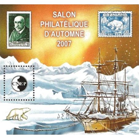 """BLOC CNEP N°_49 """"SALON PHILATELIQUE D'AUTOMNE 2007"""""""