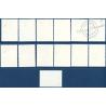 NOUVELLES-HÉBRIDES N°463 A 475 TIMBRES POSTE DE 1972-1975 LÉGENDE ANGLAISE, NEUFS**, 1977