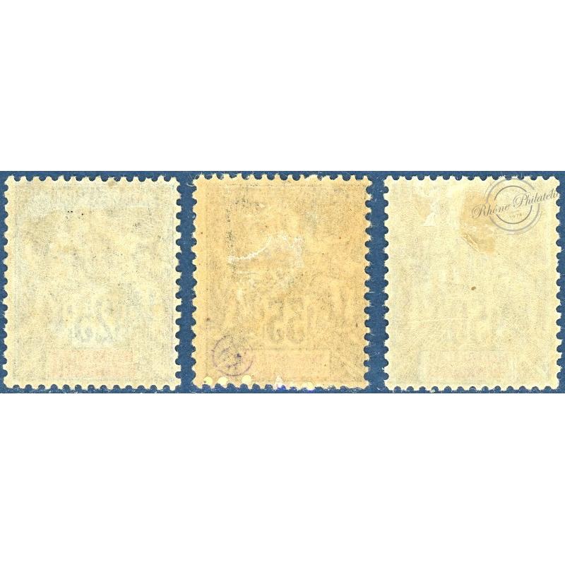 MADAGASCAR N°45 A 47 , TIMBRE NEUFS*/**, 1900-06