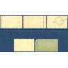 NOUVELLES-HÉBRIDES N°11 A 15 TIMBRE-TAXE DE 1938, NEUFS**