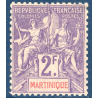 MARTINIQUE N°50 TIMBRE NEUF*, ANNEE 1899-1906