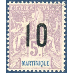 MARTINIQUE N°81A TIMBRE NEUF**, ANNEE, 1912