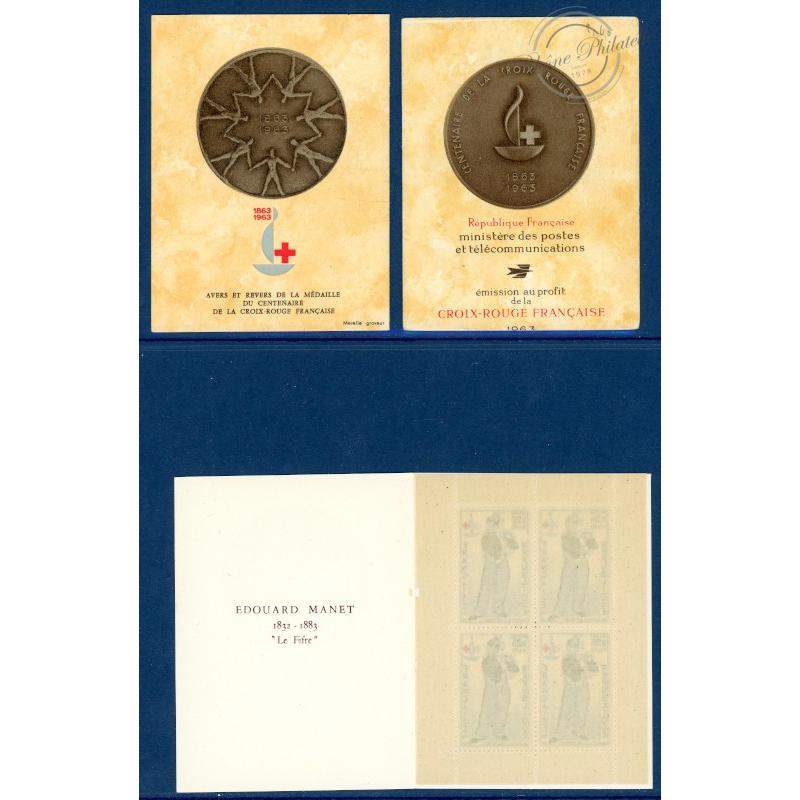 LOT 9 CARNETS CROIX-ROUGE N°2012 NEUFS** DE 1963