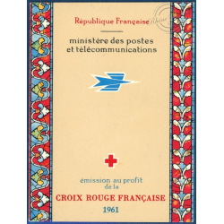 CARNET CROIX-ROUGE N°2010, TIMBRES NEUFS**, 1961