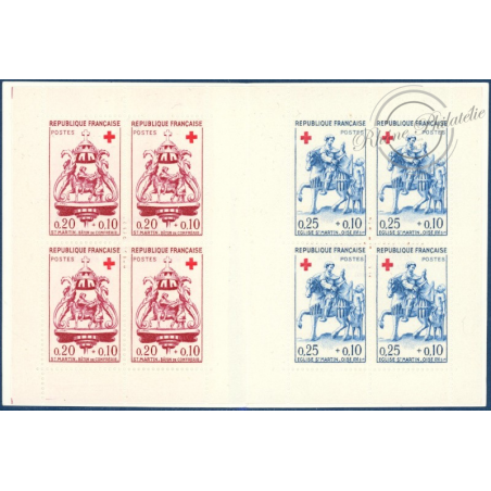 CARNET CROIX-ROUGE N°2009, TIMBRES POSTE NEUFS**, 1960, LUXE