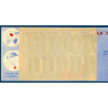 CARNET CROIX-ROUGE N°2001,TIMBRES NEUFS**, 1952