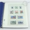 ALBUM LINDNER 1998-2002, feuilles pour timbres d'Allemagne