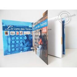 LE LIVRE DES TIMBRES FRANCE 2008