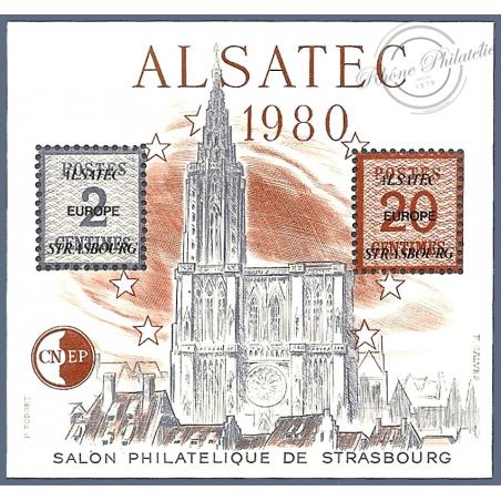 """BLOC CNEP N°1 """"ALSATEC 1980"""""""