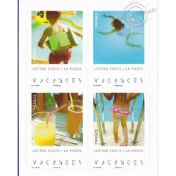 "CARNET ""VACANCES"" lettre verte 20g ANNEE 2019"