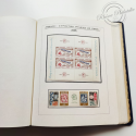 ALBUM FEUILLES PERSONNALISEES 1958-1969 COLLECTION timbres France