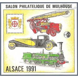 """BLOC CNEP N°_13 """"ALSACE 91"""" LUXE"""