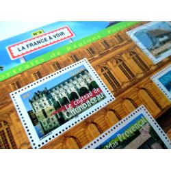 LOT DE 28 BLOCS N°61 LA FRANCE A VOIR N°2, FACIALE 140€, ANNEE 2003
