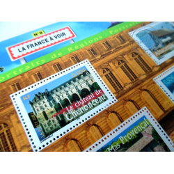 LOT DE 64 BLOCS N°61 LA FRANCE A VOIR N°2, PORTRAITS DE NOS REGIONS FACIALE 320€