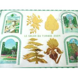 LOT DE 32 BLOCS N°71 SALON DU TIMBRE 2004
