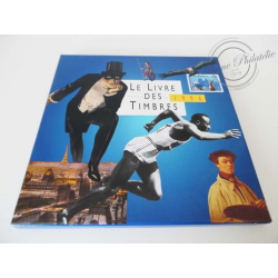 LE LIVRE DES TIMBRES FRANCE 1996