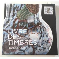 LE LIVRE DES TIMBRES FRANCE 2018