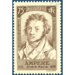 FRANCE N°310 ANDRÉ-MARIE AMPÈRE, TIMBRE NEUF** 1936