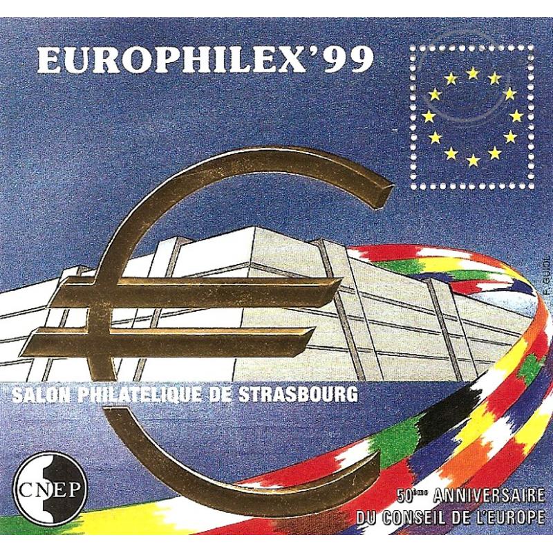 "BLOC CNEP N°_29 ""EUROPHILEX'99"" LUXE"