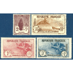 FRANCE N°229 A 232 SÉRIE ORPHELINS DE GUERRE ,TIMBRES NEUFS - 1926
