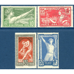FRANCE N°183 à 186 JEUX OLYMPIQUES DE PARIS, TIMBRES NEUFS** - 1924