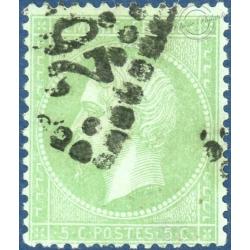 FRANCE N°35 TYPE NAPOLÉON, TIMBRE OBLITÉRÉ - 1871