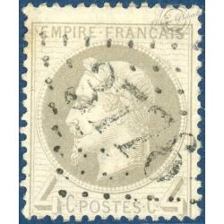 FRANCE N_°27A TYPE NAPOLÉON, TIMBRE OBLITÉRÉ, 1863