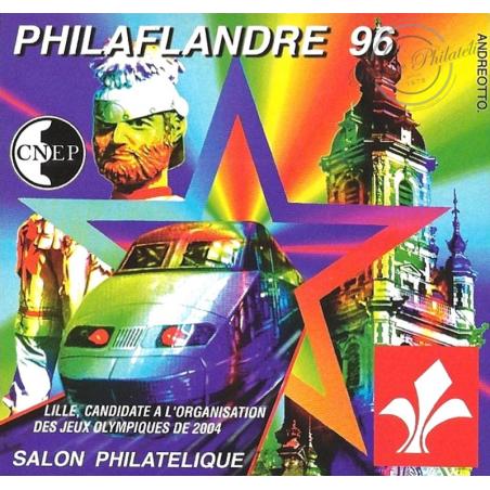 """BLOC CNEP N°_22a NON DENTELE """"PHILAFLANDRE 96"""" LUXE"""