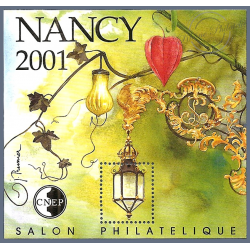 "BLOC CNEP N°_33 ""NANCY 2001"""