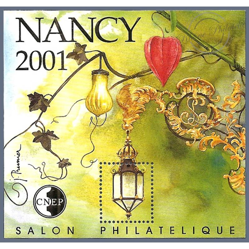 """BLOC CNEP N°_33 """"NANCY 2001"""" LUXE!!"""