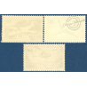 FRANCE PA N°35-37 PROTOTYPES, TIMBRES NEUFS** 1957