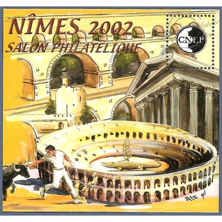 """BLOC CNEP N°_36 """"NIMES 2002"""" LUXE"""