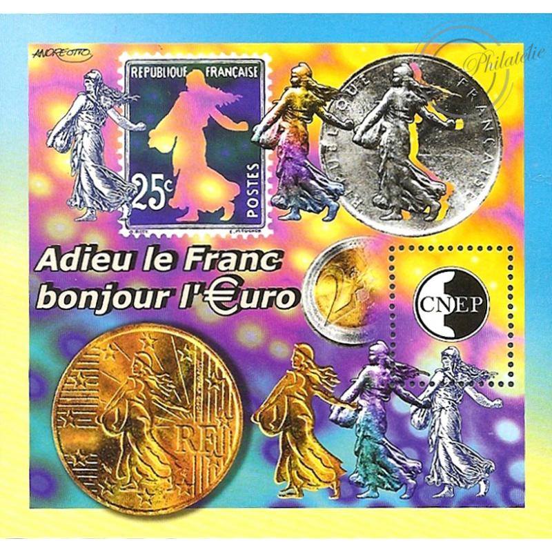 """BLOC CNEP N°_35 """"3ème BIENNALE PARIS"""" LUXE"""