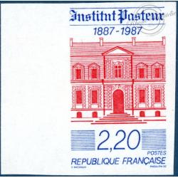 N° 2496a, CENTENAIRE DE L'INSTITUT PASTEUR, TIMBRE NEUF**, 1987