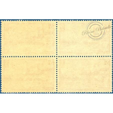 BLOC DE 4 N°391, AVIGNON : LE CHATEAU DES PAPE, TIMBRES NEUFS **, 1938