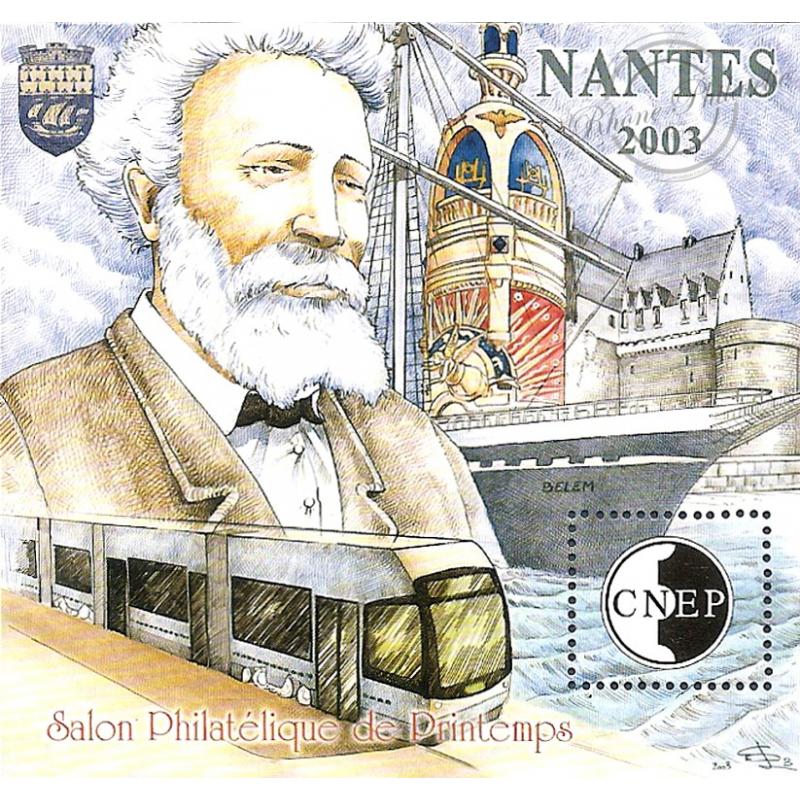 "BLOC CNEP N°_38 ""NANTES 2003"" LUXE"