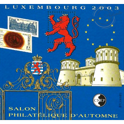 "BLOC CNEP N°_39 ""LUXEMBOURG 2003"""