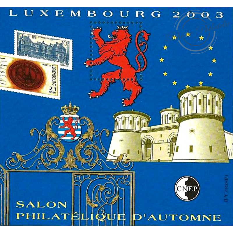 """BLOC CNEP N°_39 """"LUXEMBOURG 2003"""" LUXE"""