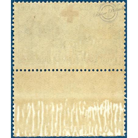 N°156 AU PROFIT DE LA CROIX-ROUGE, TIMBRE NEUF**, BORD DE FEUILLE, 1918