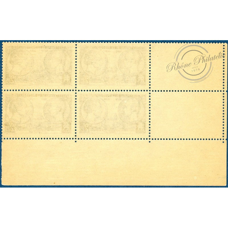 N°427 COIN DATÉ, CENTENAIRE PHOTOGRAPHIE, 1939, TIMBRE NEUF**