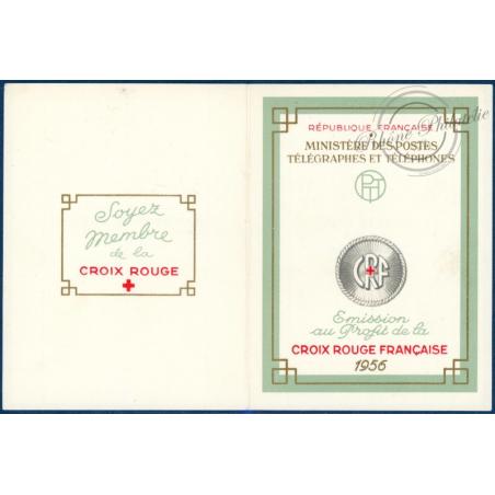 CARNET CROIX-ROUGE N°2005, 1956, TIMBRES NEUFS**, TTBE
